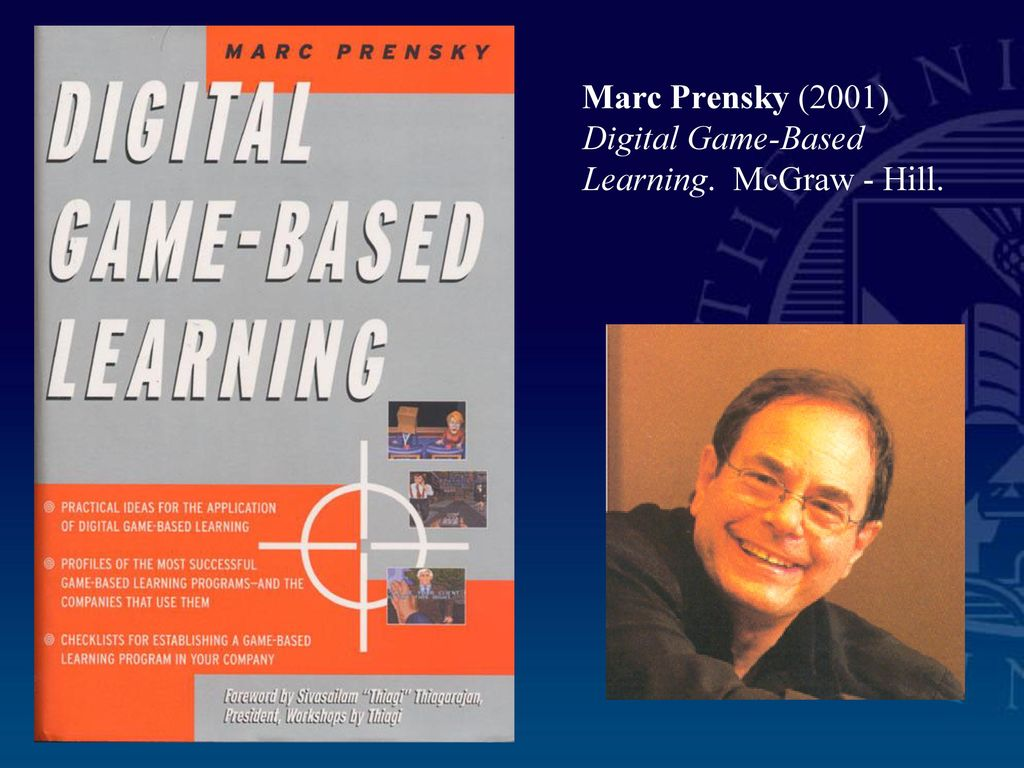Benefits of Buying Digital Game-Based Learning by Mar Prensky